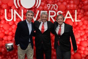 Berch Rupenian, Alberto Kesman y Pablo Lecueder