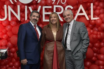 Diego Borges, Gabriela Imperio y Fernando Vilar