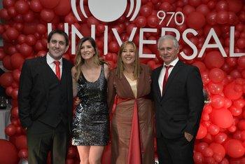 Diego Sorondo, Flor Mosto, Gabriela Imperio y Pablo Chavarria