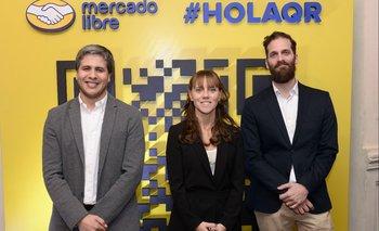Rafael Hermida, Paula Arregui y Gustavo Degeromini