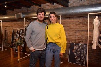 Martin Estevez y Cecilia Machado
