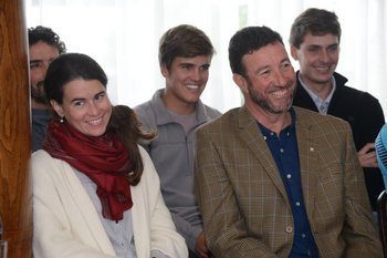 Florencia Parnizari y Ricardo Fabini
