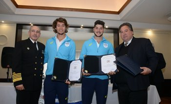 Carlos Abilleira, Martín González, Marcos Sarraute y Fernando Ucha