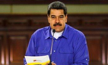Durante un discurso en la televisión, Maduro confirmó que hay conversaciones entre funcionarios de Venezuela y Estados Unidos.
