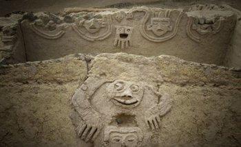 Se cree que las imágenes talladas representan la esperanza de que llegue la lluvia