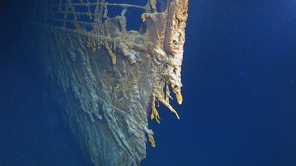 Revelan las últimas imágenes captadas en 4k del Titanic