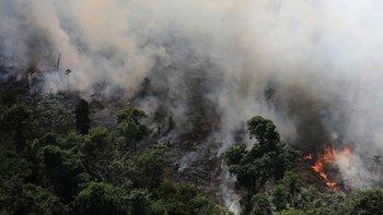El Instituto Nacional de Investigaciones Espaciales (INPE) de Brasil detectó más de 72.800 focos de incendios en la región en lo que va de año