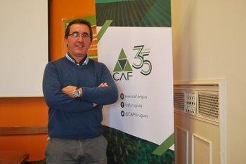 Pablo Perdomo, presidente de las Cooperativas Agrarias Federadas (CAF).