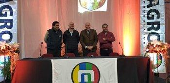 Juan Miguel Otegui, Alfonso Capurro, Víctor Tonelli y José Pedro Aicardi.