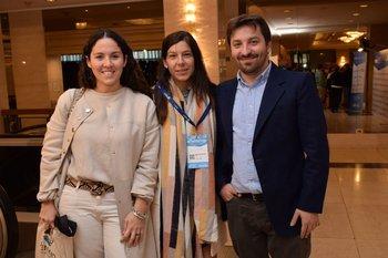 Florencia Caymaris, María Elisa Romero y Juan Fariña