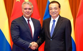 A principios de agosto, Iván Duque visitó China.