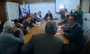 La reunión se desarrolló en la sede del MGAP, en Montevideo.