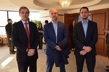 Pablo Pereira, Eduardo Ferrari y Martin Cabrera