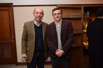 Roberto Lockhart y Germán Tobler