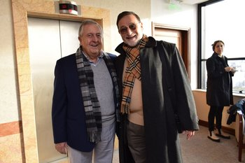 Carlos Lecueder y Rodolfo Oppenheimer