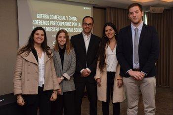 Carolina Rodríguez, Lucila Bonilla, Guillermo Tolosa, María Soares De Lima y Giuliano Simoncelli