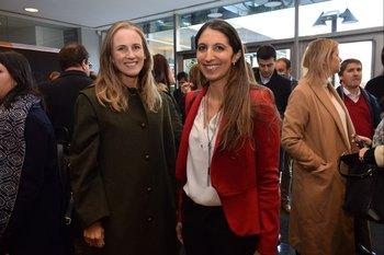 Natalia Techera y Gabriela Mira