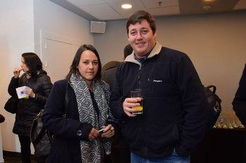 Rosa Silva y Jorge Young