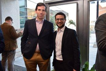 Álvaro Pérez y Matias Cohen