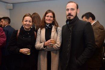 Andrea Vidal, Soledad Sales y Fabian Acuña