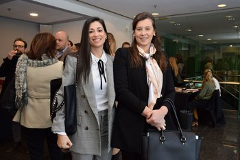 Gimena Sedarri y Gimena Sánchez