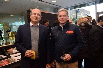 Luis Bonomi y Carlos Lage
