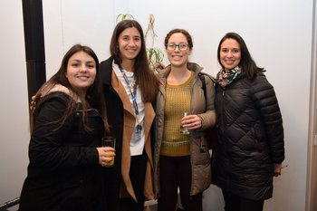Melany Vera, Constanza Trigo, Victoria Hourcade y Luciana Berois