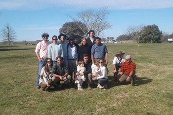 La familia Alfonso.