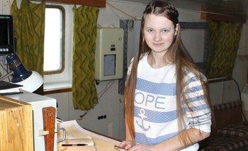 Marina Migunova realizó el descubrimiento a través del estudio de imágenes satelitales.