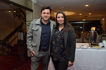Daniel Forlani y Viviana Montaldo
