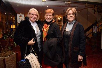 Silvia Barabino, Delia Astini y Doris Cesio