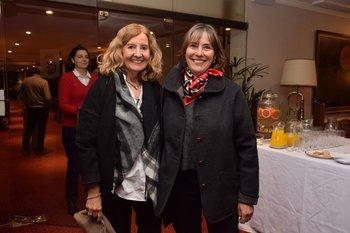 Socorro Reyes y Liliana Liuzzi