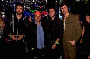 Maximo Cativelli, Jimmy Castilhos,  Emanuel Dos Santos y Victor Texeira
