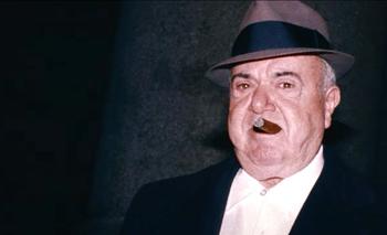"""Anthony """"el Gordo Tony"""" Salerno, capo de la familia Genovese durante la década de 1980"""