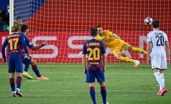 El penal que anotó Suárez