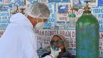 Diferentes centros de salud en Bolivia reportan que se les acaba el oxígeno