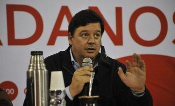 El ministro de Ambiente Adrián Peña ha liderado las negociaciones en nombre de Ciudadanos