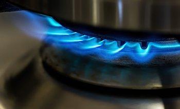 Hornalla de cocina a gas.