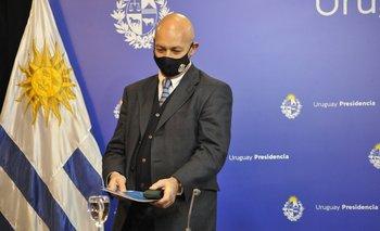 El presidente del Banco de Previsión Social, Hugo Odizzio