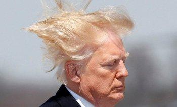 """Trump dijo que su cabello tiene que estar """"perfecto"""""""