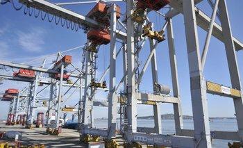 El contrato por la operación de TCP de Katoen Natieen el puerto de Montevideo vigente hoy es hasta 2031.