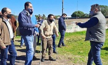 Orsi y Niffouri se encontraron durante una recorrida