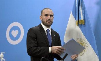 El ministro de Economía Martín Guzmán tiene varios frentes por atender.