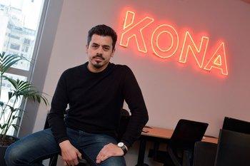 Diego Cibils, fundador de Kona