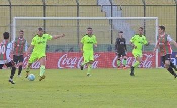 Krisztián Vadócz de Peñarol ante Deportivo Maldonado