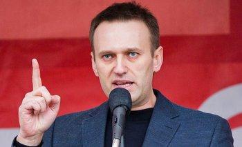 Alexei Navalni, líder opositor ruso