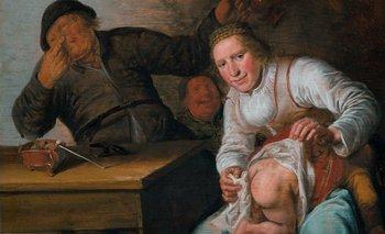 Los cinco sentidos (1637) Jan Miense Molenaer