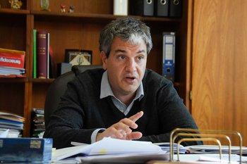 El presidente de la Administración Nacional de Puertos (ANP), Juan Curbelo.