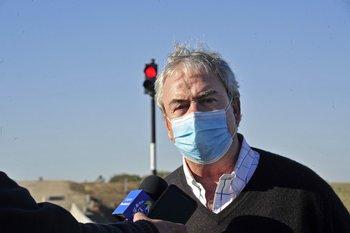 El ministro Luis Alberto Heber se había referido a la situación de los operadores portuarios en el Parlamento