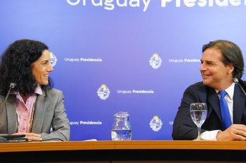 """Lacalle Pou destacó que Arbeleche tiene una mirada """"humana"""" de la economía"""